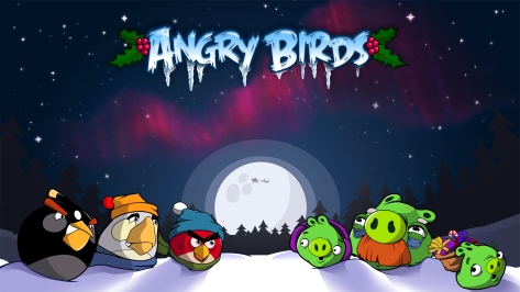 Angry Bird Seasons 1920x1080